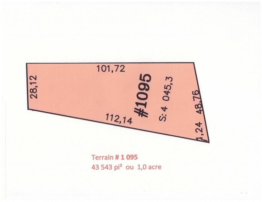 Terrain # 1 095-12