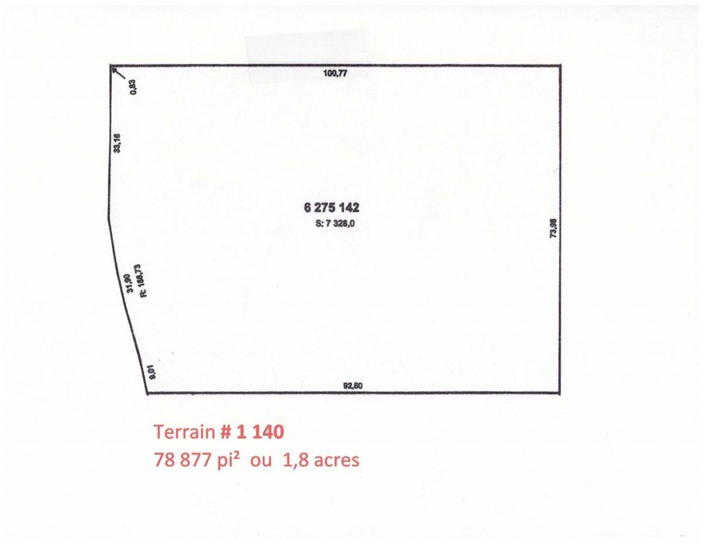 Terrain # 1 140-12