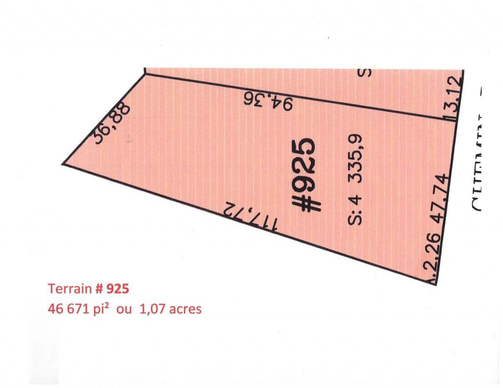 Terrain # 925-12